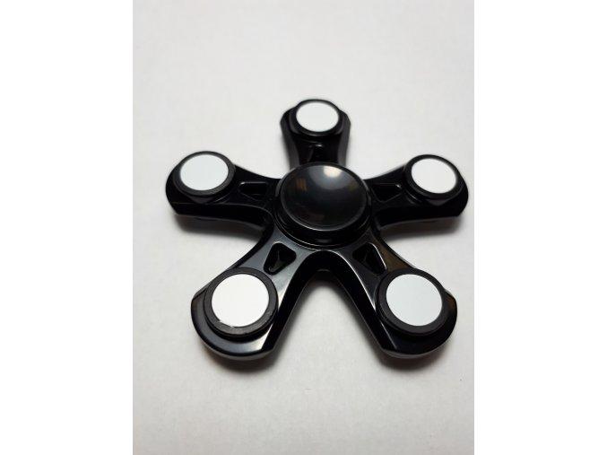 Fidget Spinner Hvězdice černá  (SUPER KVALITA)