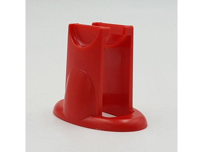 Fidget spinner stojánek červený
