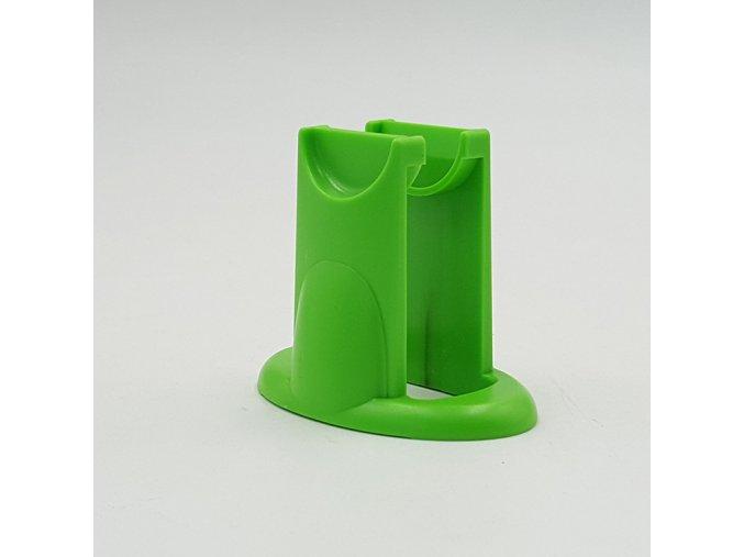 Fidget spinner stojánek zelený