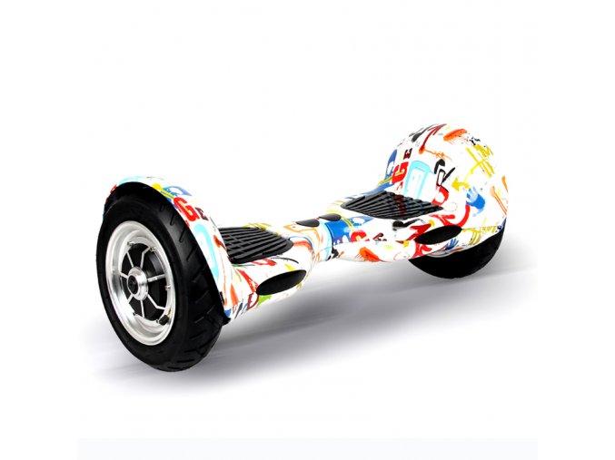 Kolonožka Hoverboard offroad Q10 CRAZY (gyroboard, smart balance wheel) doprava zdarma AKCE / podobná vozítku mini segway