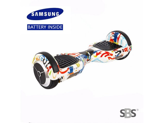 "Hoverboard Q3 7"" Graffiti 1 (gyroboard, gyroboard, smart balance wheel) doprava zdarma / podobná vozítku mini segway.."
