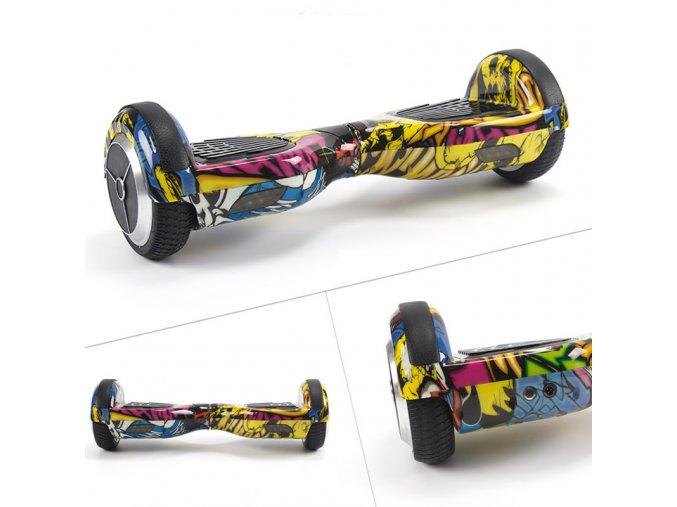 "Kolonožka Hoverboard Q3 7"" HIP HOP (gyroboard, gyroboard, smart balance wheel) doprava zdarma / podobná vozítku mini segway.."