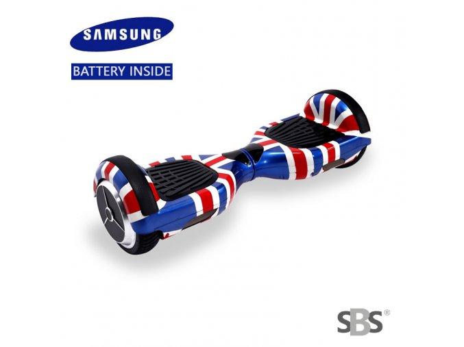 """Hoverboard Q3 7"""" Anglie (gyroboard, smart balance wheel) doprava zdarma / podobná vozítku mini segway.."""