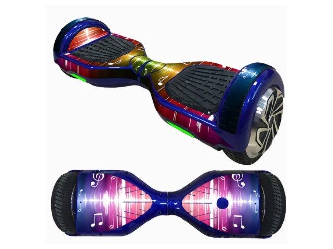 hoverboard nálepka Music