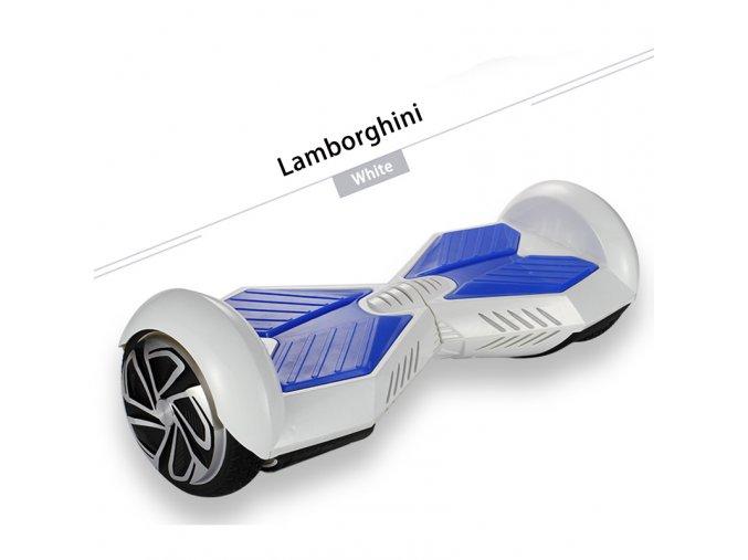 "Kolonožka Hoverboard Q5 Matrix Bílá 8"" (gyroboard, smart balance wheel) doprava zdarma / podobná vozítku mini segway.."