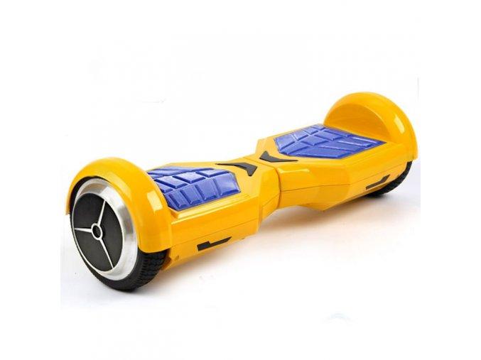"""Kolonožka Hoverboard Q6 Transformer Žlutý 6,5"""" (gyroboard, smart balance wheel) doprava zdarma AKCE / podobný vozítku mini segway.."""