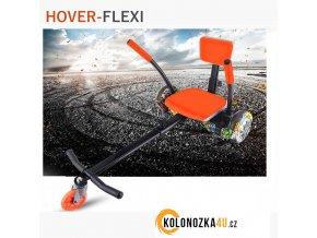 """Kolonožka Buggy FLEXI 10"""" Hoverkart - rám se sedadlem (hovercart)"""