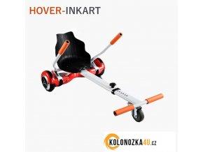 "Kolonožka Buggy - Hoverkart - INKART 10"" - rám se sedadlem (hovercart)"