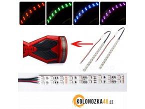 LED pásek pro hoverboard 2 kusy (gyroboard, smart balance wheel) Q5 hoverboard je podobný známému vozítku mini segway