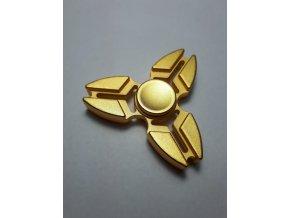 Fidget Spinner Crab zlatý  (SUPER KVALITA)