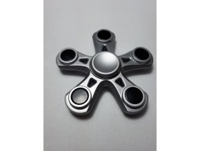 Fidget Spinner Hvězdice šedá  (SUPER KVALITA)