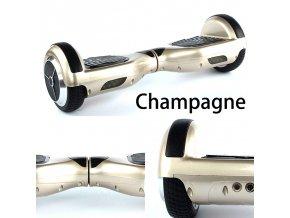 "Hoverboard Q3 7"" Champagne (gyroboard, smart balance wheel) doprava zdarma / podobná vozítku mini segway.."