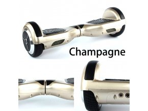 "Kolonožka Hoverboard Q3 7"" Champagne (gyroboard, smart balance wheel) doprava zdarma / podobná vozítku mini segway.."