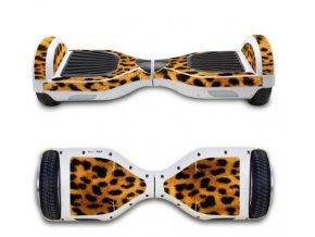 hoverboard nálepka leopard