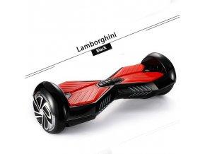 """Kolonožka Q5 Lamborghini Černá 6,5"""" (gyroboard, kolonožka, hoverboard, smart balance wheel) doprava zdarma AKCE / podobná vozítku mini segway"""