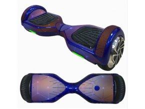 hoverboard nálepka vesmír