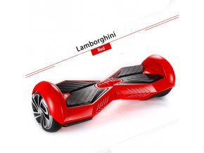 "Hoverboard Q5 Matrix Červená 8"" (gyroboard, smart balance wheel) doprava zdarma / podobná vozítku mini segway"
