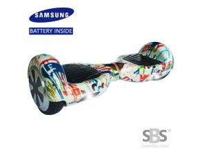 Kolonožka Hoverboard Q4 7 Gratify 1 (gyroboard, smart balance wheel) doprava zdarma / podobná vozítku mini segway..