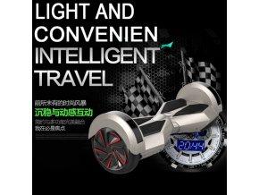 """Hoverboard Q5 Matrix Bílá s LED světly na blatnících 6,5""""  (gyroboard, smart balance wheel) doprava zdarma / podobná vozítku mini segway.."""