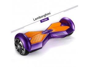 """Kolonožka Hoverboard Q5 Matrix Fialová 6,5"""" (gyroboard, smart balance wheel) doprava zdarma AKCE / podobná vozítku mini segway.."""