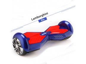 "Kolonožka Q5 Lamborghini Modrá 6,5"" (gyroboard, kolonožka, hoverboard, smart balance wheel) doprava zdarma AKCE / podobná vozítku mini segway"