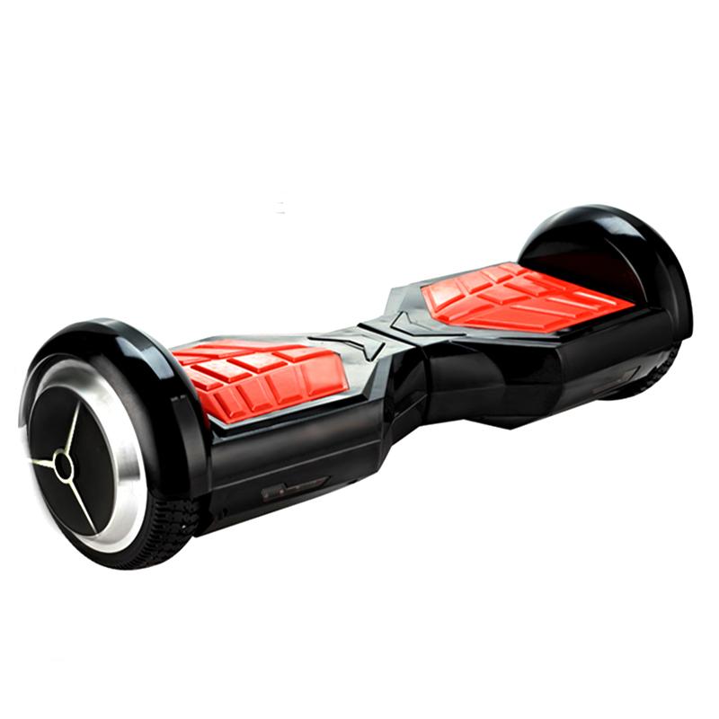 """Kolonožka Hoverboard Q6 Transformer Černý 6,5"""" (gyroboard, smart balance wheel) doprava zdarma / podobný vozítku mini segway.."""