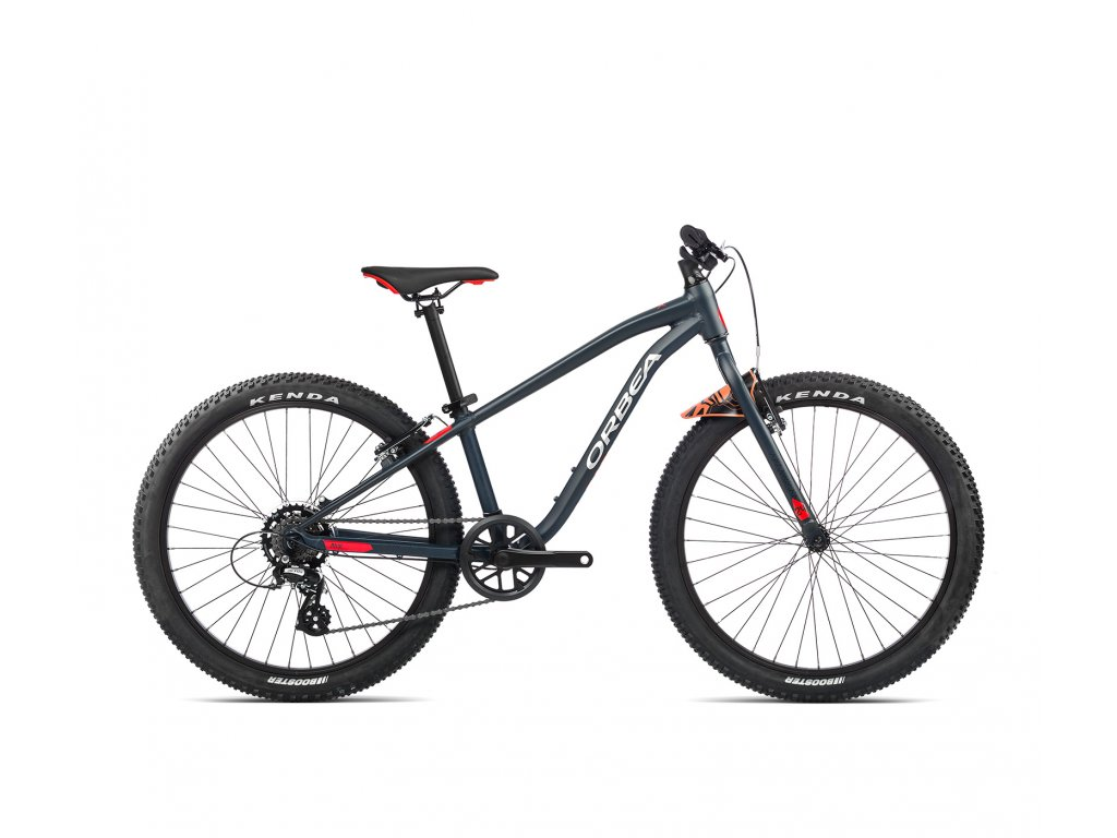 Orbea MX 24 DIRT Blue Bondi-Bright Red 2021