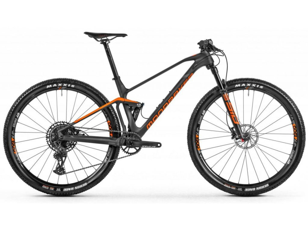 Mondraker F-Podium Carbon, Carbon/Orange/Grey, 2021