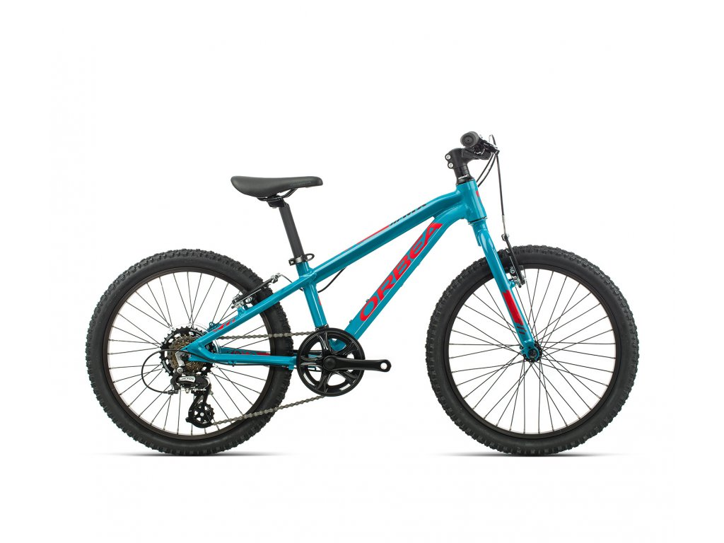 Orbea MX 20 DIRT Blue Bondi-Bright Red 2020-ok