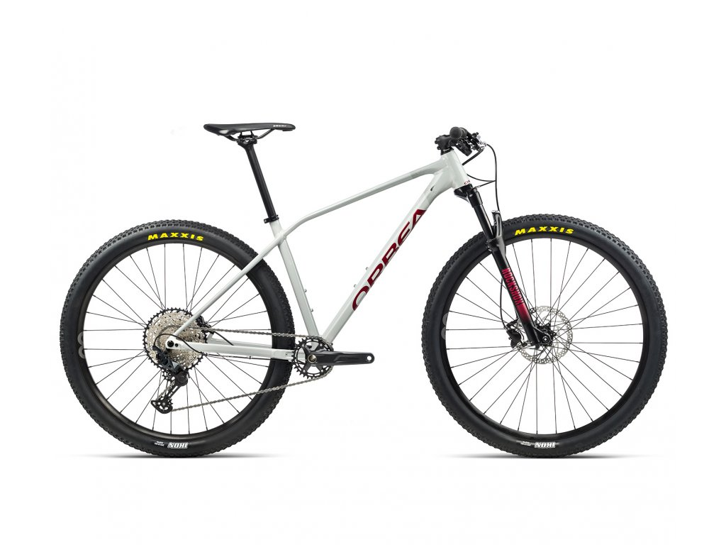 Orbea ALMA H20 White Grey-Metallic Red 2021