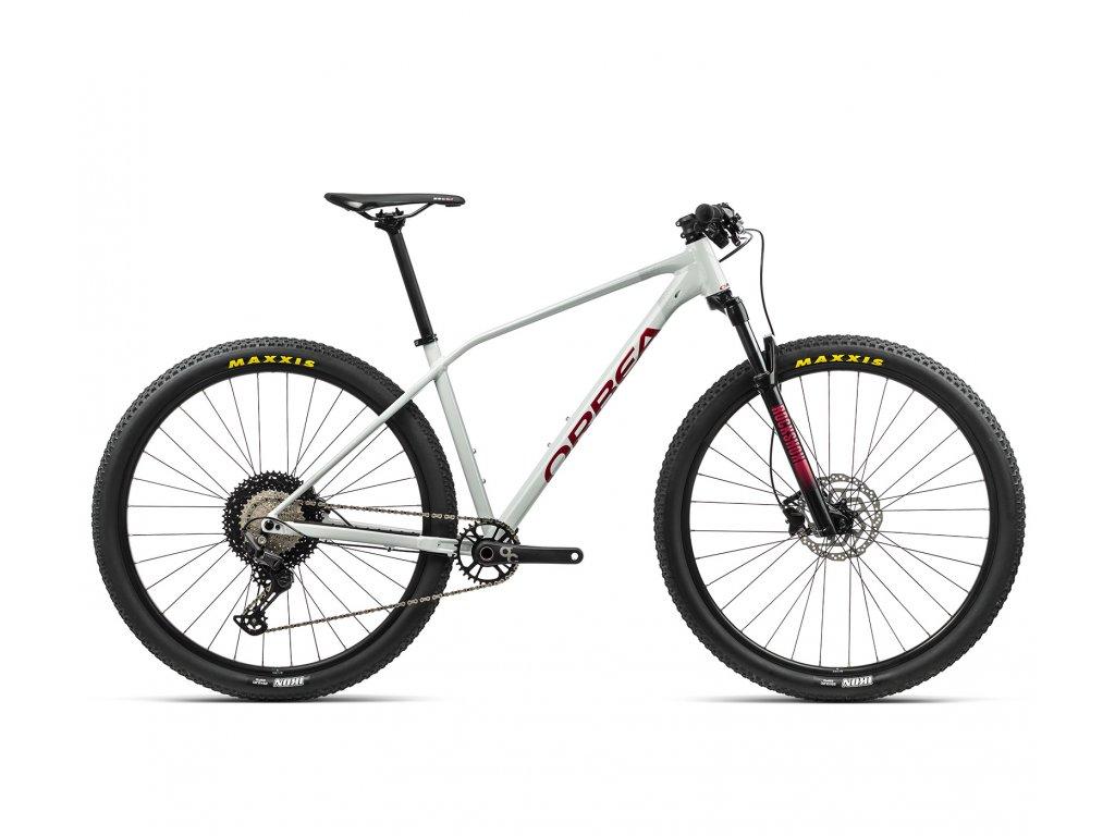Orbea ALMA H30 White Grey-Metallic Red 2021