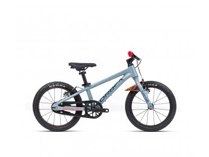 Orbea MX 16 Blue Grey-Bright Red 2021