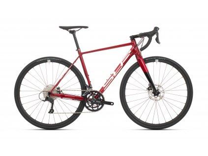 Superior X-ROAD gloss dark red/chrome/black 2021