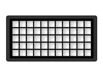 HFZE2 - HEPA filtr do vysavače Zelmer Meteor