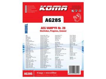 KOMA PET AG28S tisk
