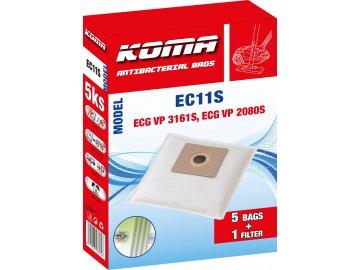 Koma EC11S - Sáčky do vysavače ECG VP 3161S textilní