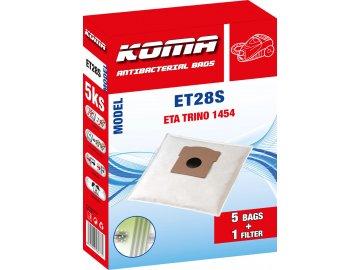 Koma ET28S - Sáčky do vysavače ETA Trino 1454 textilní