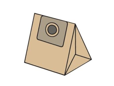 KOMA sáčky DOMO DO 7257S papírové 5 ks + 1 mikrofiltr