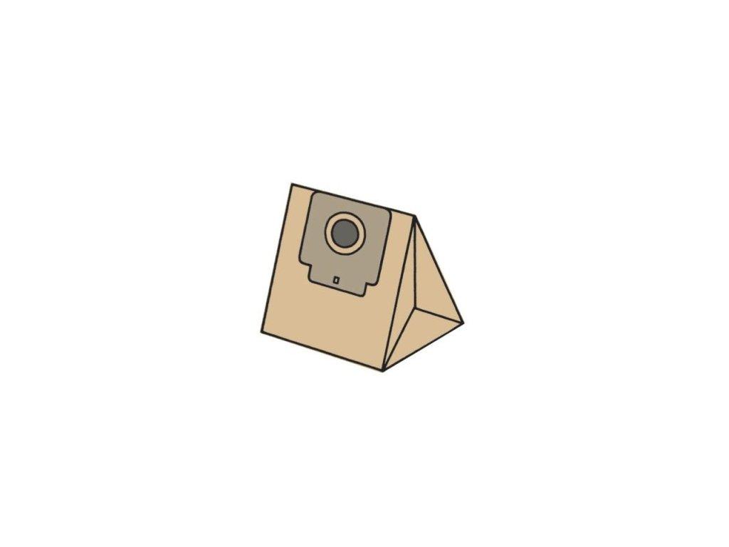 EC09P - Sáčky do vysavače ECG ZW 1200-39 papírové (Balení Balení v krabičce)