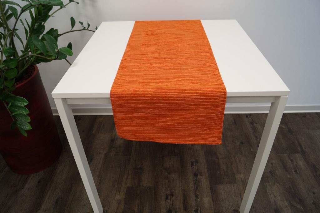 Levně Ubrus BARBORA Farba: Oranžová,, Rozmer: 85 x 85 cm,