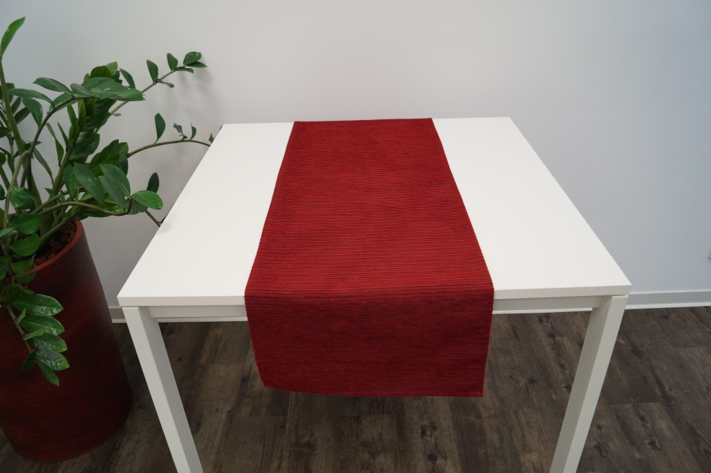 Levně Ubrus BARBORA Farba: Bordová,, Rozmer: 120 x 140 cm,