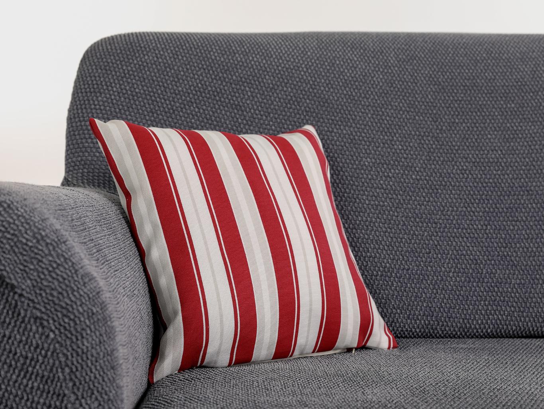 Levně Komashop Povlak na polštář ELA Barva: Červená, Rozmer: 48 x 48 cm