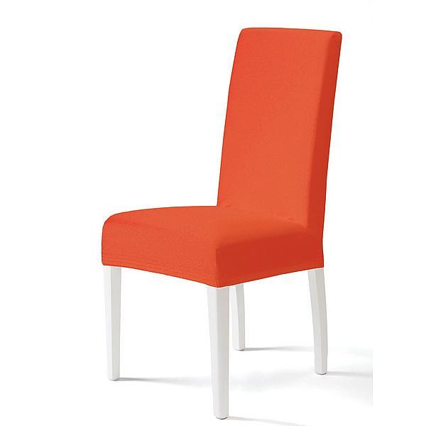 Levně Komashop Potah na židli BOSTON Barva: Oranžová