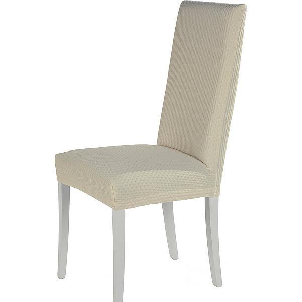 Levně Komashop Potah na židli NATALI Barva: Bílá