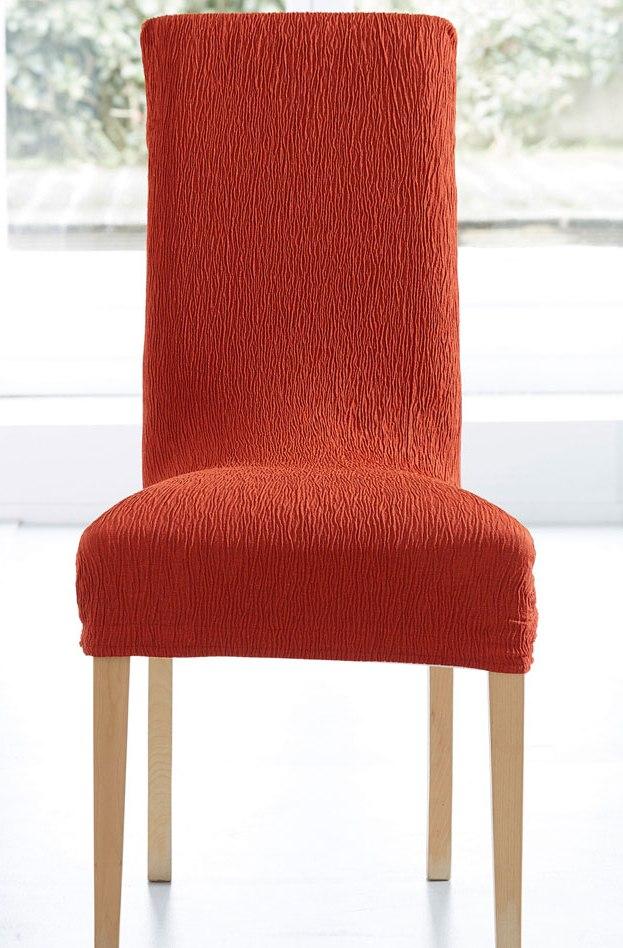 Levně Komashop Potah na židli JARA Barva: Oranžová