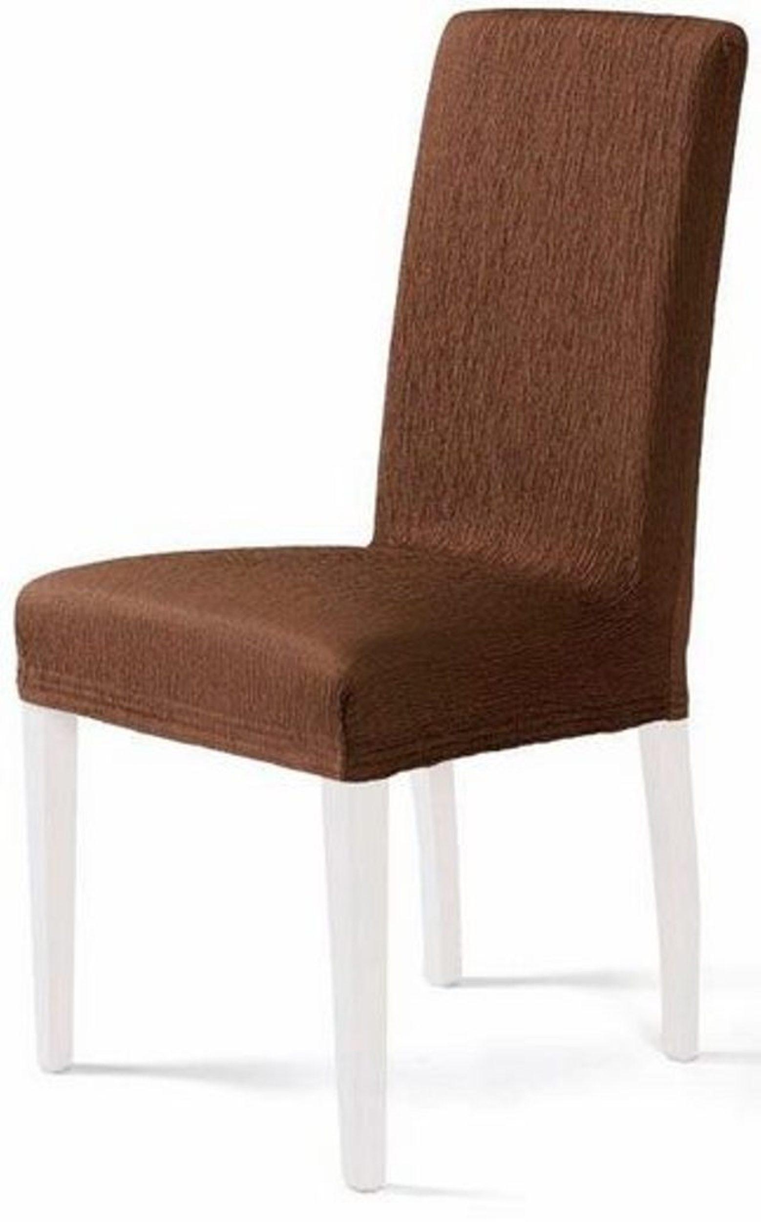 Levně Komashop Potah na židli JARA Barva: Hnědá