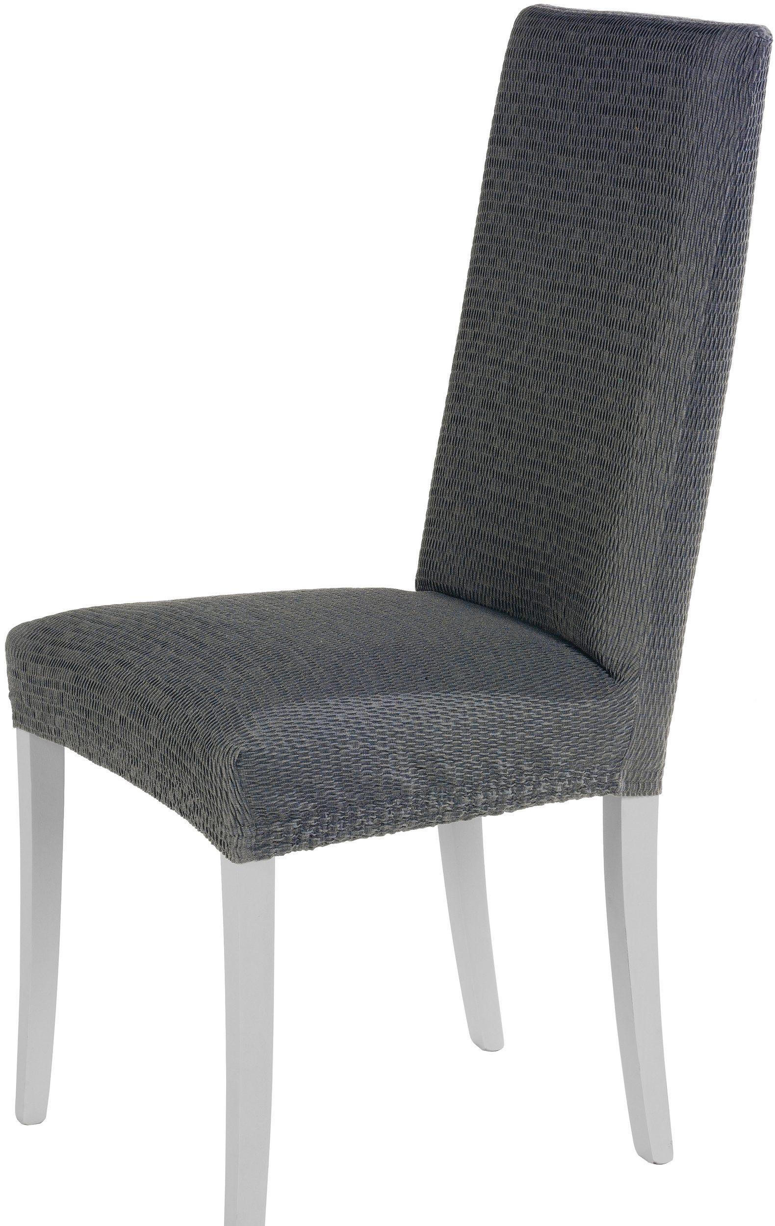 Levně Komashop Potah na židli TIMEA Barva: Šedá