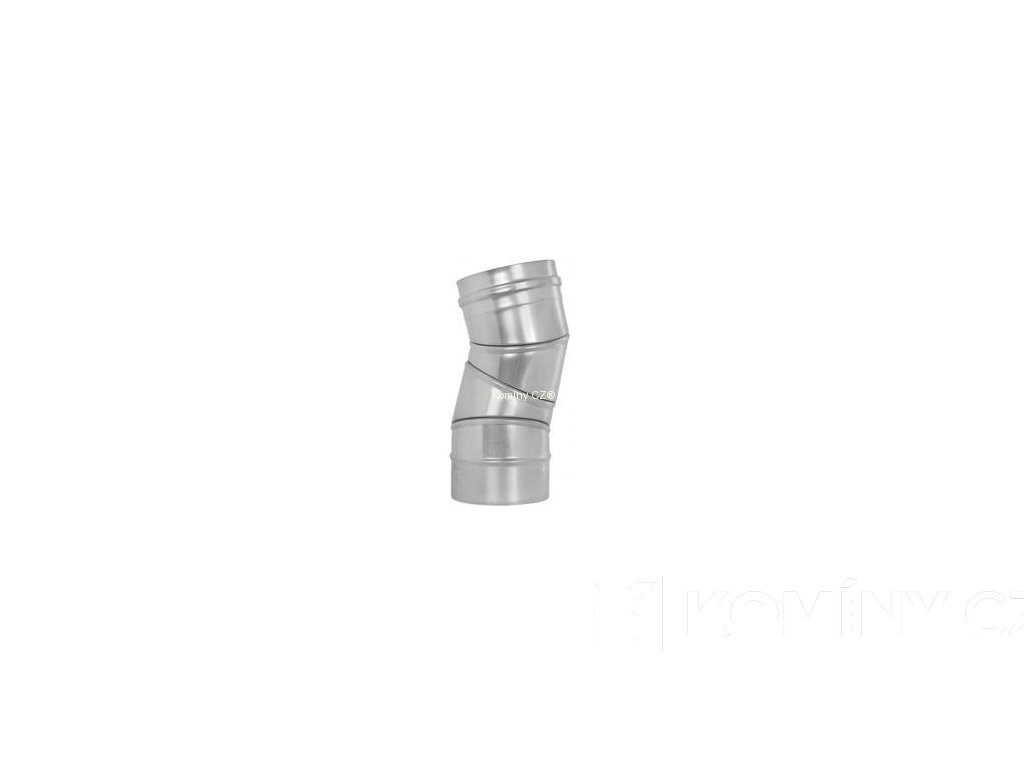 Koleno otočné nerez 0-90° 0,6-130mm