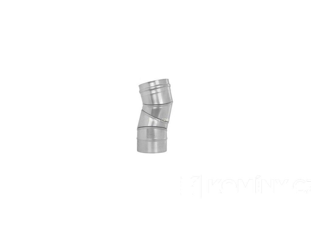 Koleno otočné nerez 0-90° 0,6-160mm