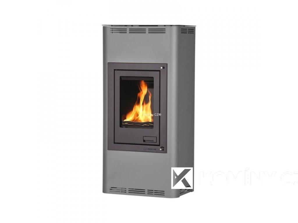 HS FLAMINGO AQUAFLAM 12 výměník automatická regulace hoření šedá